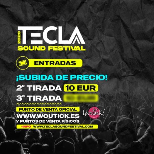 Entradas Tecla Sound Festival